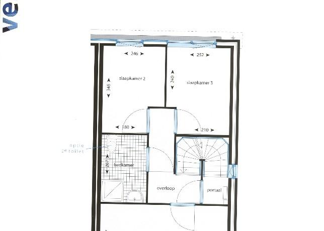 Verdieping kavel 26-35 Halfvrijstaande woningen