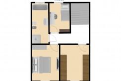Plattegrond Bleijerheidestraat 122 en 122A verdieping 2