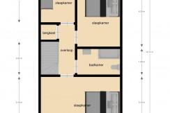 chrysantstraat 39 plattegrond 3, Kerkrade