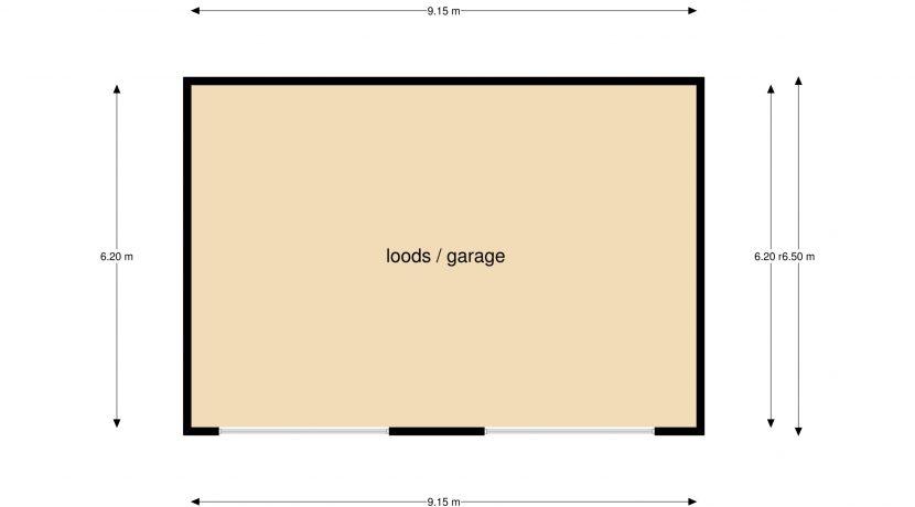 Plattergrond Reeweg 96 Landgraaf loods