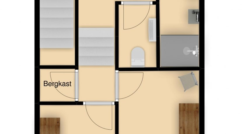 Plattegrond Verdieping 2 Caumerboord 39A Heerlen_23