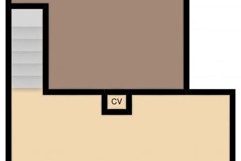 Plattegrond souterrain