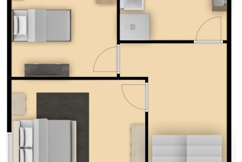 Groene Kruisstraat 15 Kerkrade_plattegrond Verdieping 1